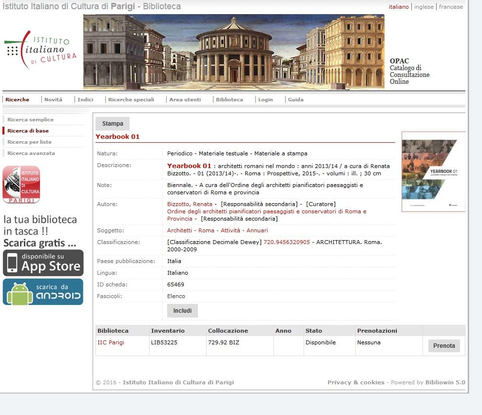 sito IICdiPARIGI