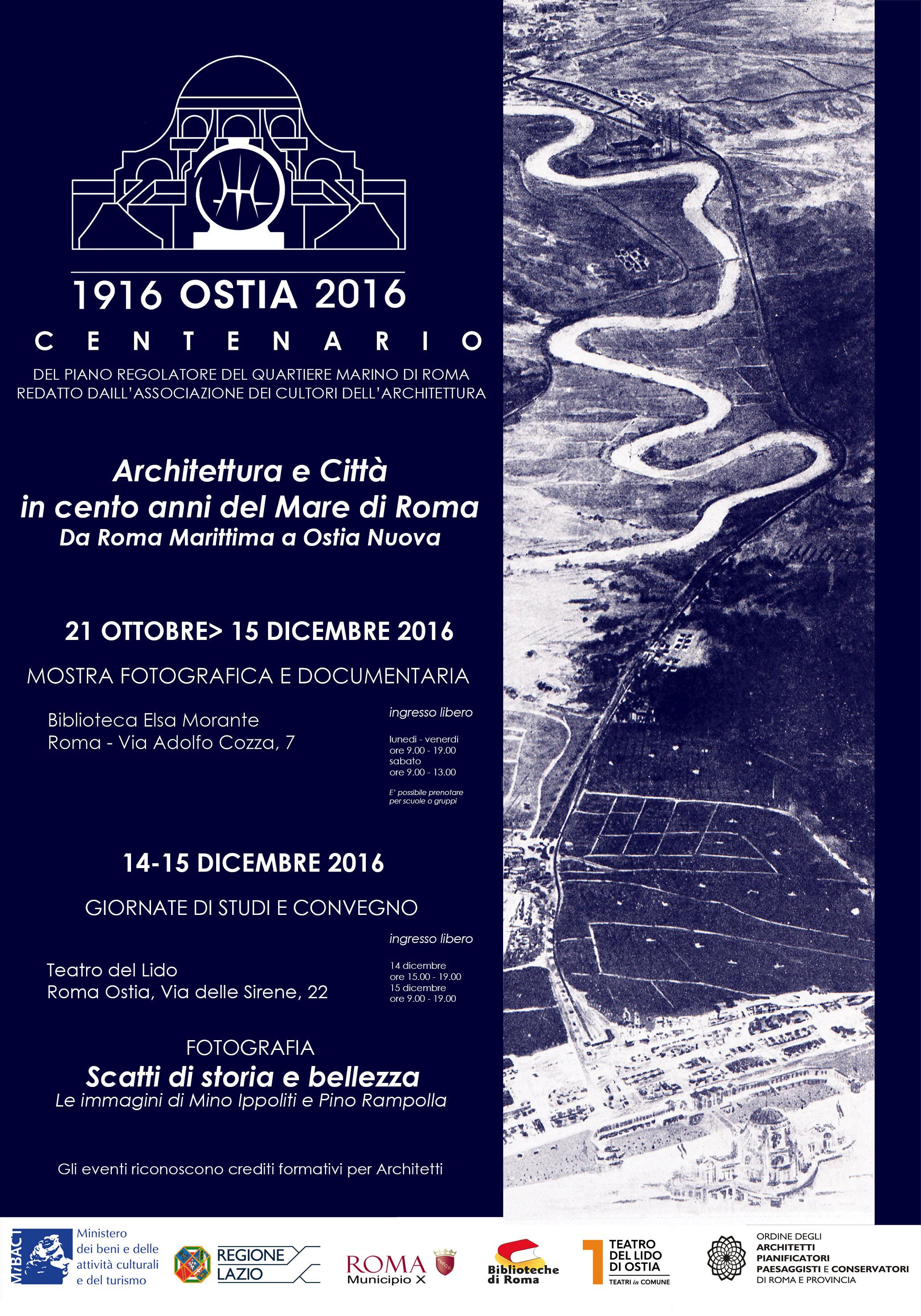 Centenario Ostia 1916 2016 Architettura E Citt In Cento Anni Del