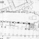 10 - Rilievo e progetto di restauro della Chiesa del Crocifisso ad Amalfi (SA); con prof. R. Bonelli (capogruppo) e altri - Pianta