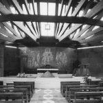 10 - Complesso del Santuario di Nostra Signora di Lourdes al Nevegal (BL) - Vista interna