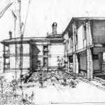 11 -  Villa unifamiliare a Castel Fusano, Roma, per Impresa edilizia Carlo Stopponi - Vista prospettica