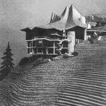 11 - Progetto del centro turistico alberghiero di Breuil, Cervinia (AO) - Fotomontaggio esterno