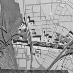 11 -  Vista del plastico della piastra in corrispondenza della circ.ne Casilina e del Torrione - Progetto U.R.B.I.S.