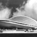 14 - Progetto del Palasport di Milano. Appalto concorso - Vista del plastico
