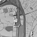 12 -  Vista del plastico della piastra in corrispondenza della direttrice di via Nocera Umbra e via Zenodosso - Progetto U.R.B.I.S.
