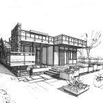 14 - Progetto di villetta prefabbricata a Nettuno (RM) - Vista prospettica