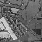 """14 - Piano di massima per la nuova Area Merci est, Aeroporto """"L. Da Vinci"""", Fiumicino (RM), per ADR - Planimetria generale"""