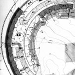 15 - Complesso residenziale nel PdZ Prima Porta, Roma, per IACP; progetto CoPER, con G. Calza Bini e altri - Planimetria generale