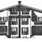 15 - Case a schiera bifamiliari e trifamiliari a Monterosi (VT) - Prospetto