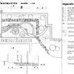 """16 - Riqualificazione delle aree esterne dell'Istituto Tecnico Aeronautico """"Francesco De Pinedo"""", Roma - Planimetria"""