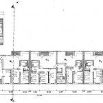 16 -  Quaranta appartamenti a Guidonia (RM), per IACP Roma; con M. Fornari - Pianta piano tipo