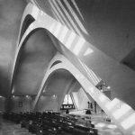 14 - Complesso parrocchiale di S. Giuseppe Moscati, Roma - Viste interne, planimetria generale