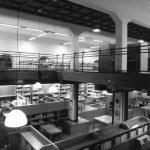 14 - Progetto di ristrutturazione e riuso a biblioteca e centro culturale dell'ex Mercato Comunale, Civita Castellana (VT); con F. Dinelli e R. Nicolini. Concorso in due fasi, I premio, realizzato - Vista interna