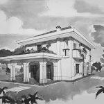 18 - Villa unifamiliare in via Pompeo Magno, Albano Laziale (RM) - Vista prospettica esterna