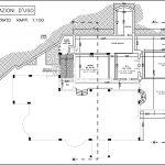 18 - Casa unifamiliare in via Nino D'Andrea, Guidonia Montecelio (RM), con R. Carovana - Pianta del piano interrato
