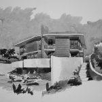 19 - Villa bifamiliare a San Felice Circeo (LT) - Vista prospettica esterna