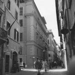 19 - Restauro di edificio residenziale in via dell'Orso 74, Roma - Vista esterna