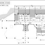 19 - Casa unifamiliare in via Nino D'Andrea, Guidonia Montecelio (RM), con R. Carovana - Pianta del piano primo