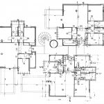 1 - Edificio per abitazioni in Civitavecchia (RM), per Impr. Fratelli Tito; in collaborazione - Pianta