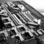 1 - Centro ospedaliero a L'Aquila; con C. Chiarini, F. Dinelli e M. Vittorini - Vista del plastico