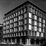 1 - Nuova sede della Direzione generale del Banco di Santo Spirito in via Milano, Roma; con G. Sterbini - Vista esterna