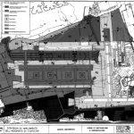 """18 - Studio generale di Valutazione Impatto Ambientale del Piano di sviluppo a lungo termine, Aeroporto """"L. Da Vinci"""", Fiumicino (RM) per ADR; con Soc. Bonifica - Planimetria generale"""