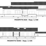 21 - Casa unifamiliare in via Nino D'Andrea, Guidonia Montecelio (RM), con R. Carovana - Prospetti