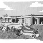 21 - Villa unifamiliare in via di Valle Pozzo, Albano Laziale (RM) - Vista prospettica esterna