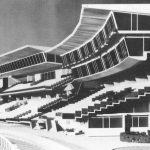23 - Progetto di ristrutturazione dell'Ippodromo di Capannelle e di restauro delle scuderie, Roma - Vista del plastico