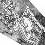 25 -  Complesso residenziale di 170 alloggi nel PdZ La Pievaiola, Perugia, per Coop. Alba Nuova; progetto CoPER - Planimetria generale