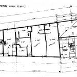 23 -  Ristrutturazione, ampliamento, consolidamento e trasformazione in residence di un edificio a Chiaramonte Gulfi (RG); con V. Alescio (coll.) - Pianta piano terra