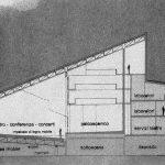 23 - Teatro e centro culturale multimediale nell'ex Consorzio Agrario, Pomezia (RM); con M. C. Calvani,  A. De Cesaris, C. Prati e F. Tegolini. Concorso nazionale, II premio -  Sezione