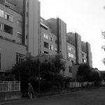 26 -  Complesso residenziale di 170 alloggi nel PdZ La Pievaiola, Perugia, per Coop. Alba Nuova; progetto CoPER - Vista esterna