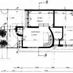 26 - Villa a Pedalino (RG); con V. Alescio (coll.) - Pianta primo piano