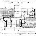 25 - Villa a Pedalino (RG); con V. Alescio (coll.) - Pianta piano terra
