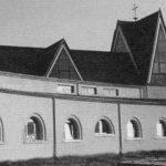 27 - Complesso parrocchiale di S. Lucia a Pontestorto, Castelnuovo di Porto (RM) - Vista esterna