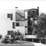 2 - Edificio per abitazioni in Civitavecchia (RM), per Impr. Fratelli Tito; in collaborazione - Vista esternadettaglio