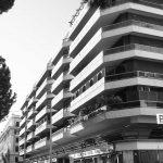3 - Complesso per uffici, abitazioni e negozi in corso Trieste a Roma, per Soc. FATA; con ing. L. Del Bufalo - Vista esterna