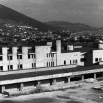 2 - Centro ospedaliero a L'Aquila; con C. Chiarini, F. Dinelli e M. Vittorini - Vista esterna