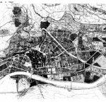 2 - PRG di Trento; capogruppo per Roma, con P. Marconi (coordinatore) e altri - Proposta con espansione della città e sistema viario di scavalcamento