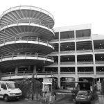 30 - Autosilo di otto piani in via Mantova nel Complesso ex Birra Peroni, Roma - Vista esterna