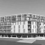 42 - Edificio residenziale ACLI e nuova sede dell'ADI nel Piano Integrato di Intervento dell'ex area Enel Porta Volta - Isolati 3 e 1, Milano - Render
