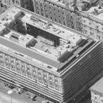 31 - Restauro e ristrutturazione di Palazzo Parrucchetti in piazza dei Cinquecento, Roma - Vista aerea