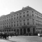 32 - Restauro e ristrutturazione di Palazzo Parrucchetti in piazza dei Cinquecento, Roma - Vista esterna