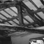 32 - Risanamento e restauro conservativo di immobili in via Cecilia Metella, Roma - Vista di dettaglio della capriata