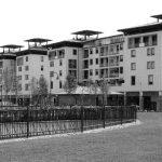 35 - Edificio per uffici UMI H21 sede del CNR - Toscana ed edifici commerciali e residenziali UMI C7, C8 e C9 nel PdR dell'ex area Fiat, Firenze - Novoli - Vista esterna