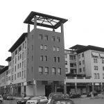 36 - Edificio per uffici UMI H21 sede del CNR - Toscana ed edifici commerciali e residenziali UMI C7, C8 e C9 nel PdR dell'ex area Fiat, Firenze - Novoli - Vista esterna