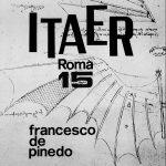 34 - Francesco De Pinedo. 15 anni di attività, fascicolo dell'Istituto Tecnico Industriale, Roma 1985 - Copertina