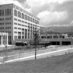 35 - Nuova sede comunale ed edificio per le Assemblee a Reggio Calabria, per Bonifica SpA - IRI Italstat; con C. Giannini - Vista interna