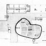 3 - Progetto del Centro civico di Fano (PU); con AUA. Concorso nazionale - Pianta secondo piano